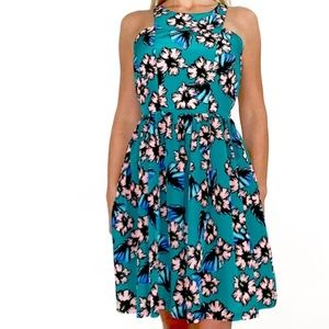 Amanda Uprichard Elle Dress in Tropical Floral